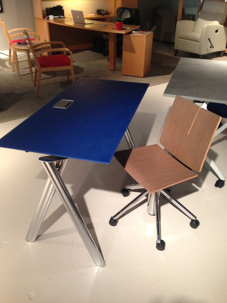 Krystacast Top On A Paces Table From Versteel. Available In Any Benjamin  Moore Paint Color