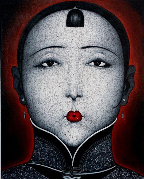 Qiu shengxian: Vil Købe, Jeggings Will, Art Qiu, Chinese Style, 01 ...