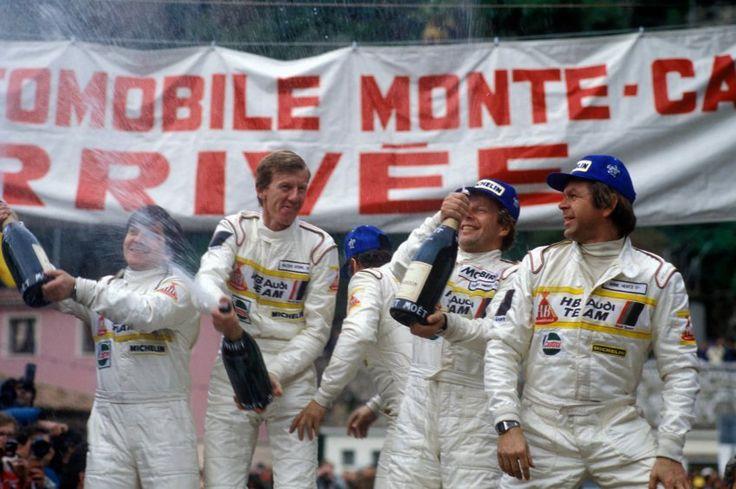Walter Röhrl ist einer der Rallye-Fahrer, der symbolhaft für die Gruppe B...