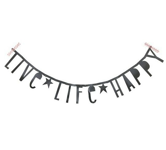 #Wordbanner #tip: #Live #Life #Happy - Buy it at www.vanmariel.nl - € 11,95