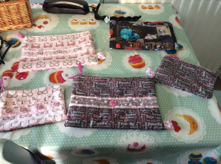 Make up bags for charity