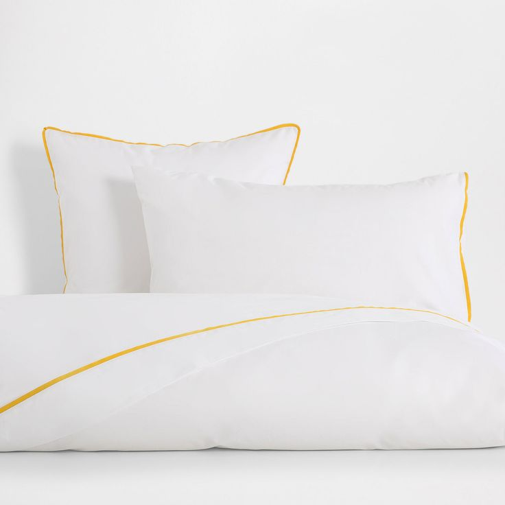 Image 4 of the product Overlocked Washed Percale Cotton Bed Linen