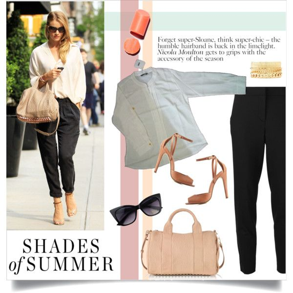 A fashion look from August 2015 featuring MICHAEL Michael Kors capris, Charlotte Russe pumps and Alexander Wang handbags. Browse and shop related looks.