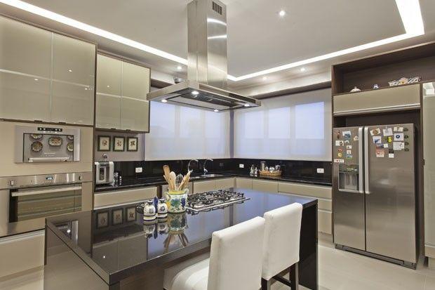 Espaos integrados e cheios de estilo
