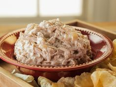 Caramelized Onion Dip recipe from Trisha Yearwood via Food Network More
