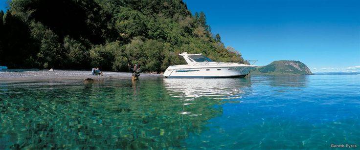 Fishing heaven, Lake Taupo