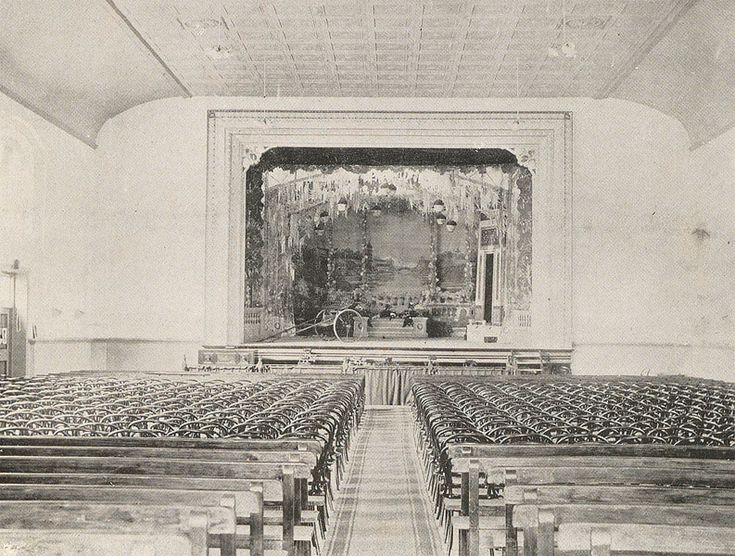 new Burnie theatre 1913, Marine terrace, closed 1932, demolished