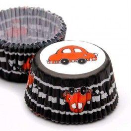 Categoría: Pirotines - Producto: Pirotines Con Diseños Nº 10 Auto - Envase: Blister - Presentación: X   25 Unid.