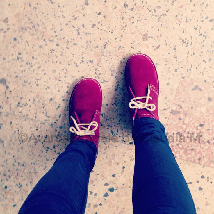 Shoes speak louder than words. ❤️