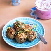 Keftas de veau à la menthe, rémoulade de radis roses - une recette Viande - Cuisine