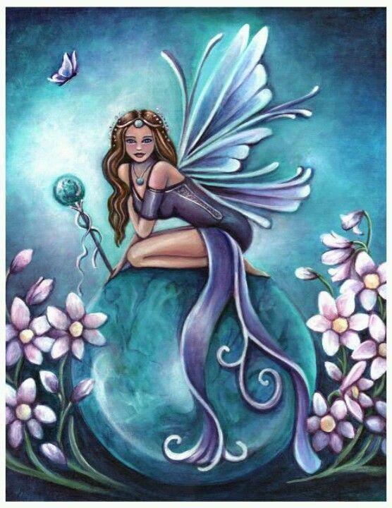 Birthstone Fairy December by Jennifer Galaddo