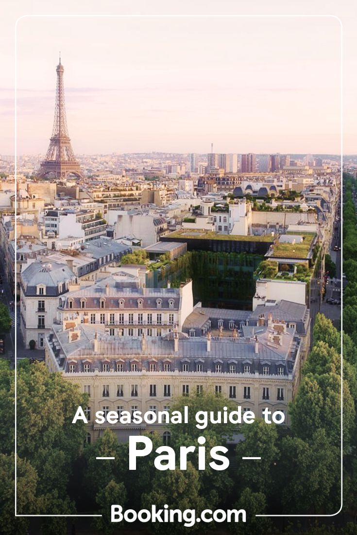 Saunter the streets of Paris in any season – taking in winter markets, blossom-lined boulevards or shady cafés – from one of our central hotels.