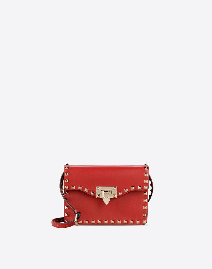 Valentino Garavani Rockstud Small Cross Body Bag, Shoulder Bags for Women - Valentino Online Boutique
