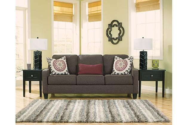 Charcoal Dinelli Queen Sofa Sleeper View 1
