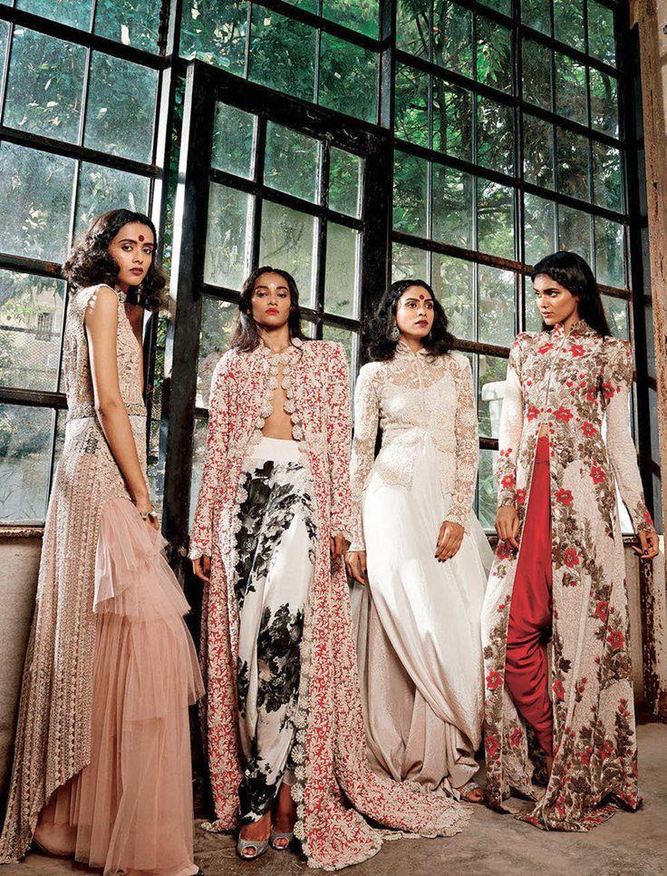 Anamika Khanna editorial for Harper's Bazaar Bride India. Shop for your dream wedding trousseau, with a personal shopper & stylist in India - Bridelan, visit our website www.bridelan.com #Bridelan #Anamika Khanna
