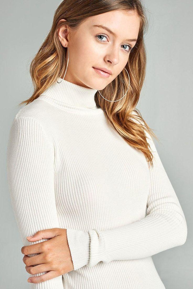 Womens sweaters cute casual fall winter fashion plus size long sleeve | KjSelect…