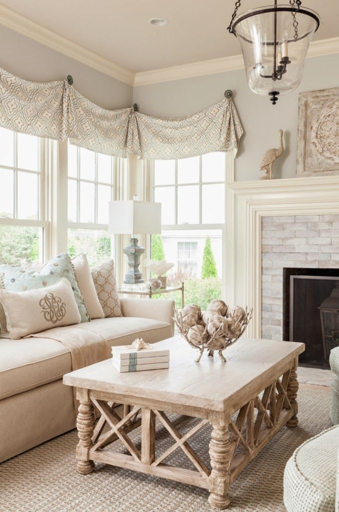Loose and light valances House of Turquoise  Casabella Home Furnishings Interiors Best 25 Valance ideas on Pinterest Bathroom valance