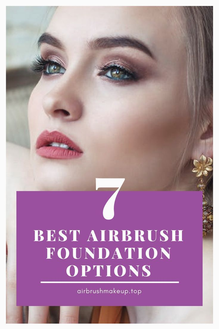 Whether it's for personal or professional makeup artist's use, a good airbrush foundation guarantees full and smooth coverage for ...