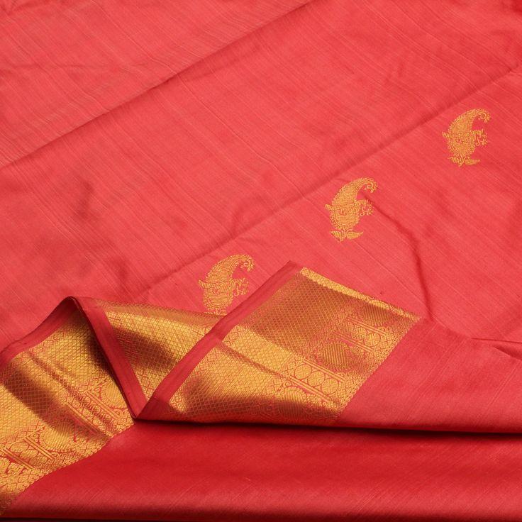 Sarangi Handwoven Kanjivaram Silk Sari - 650125965 from Sarangi * Feel Beautiful