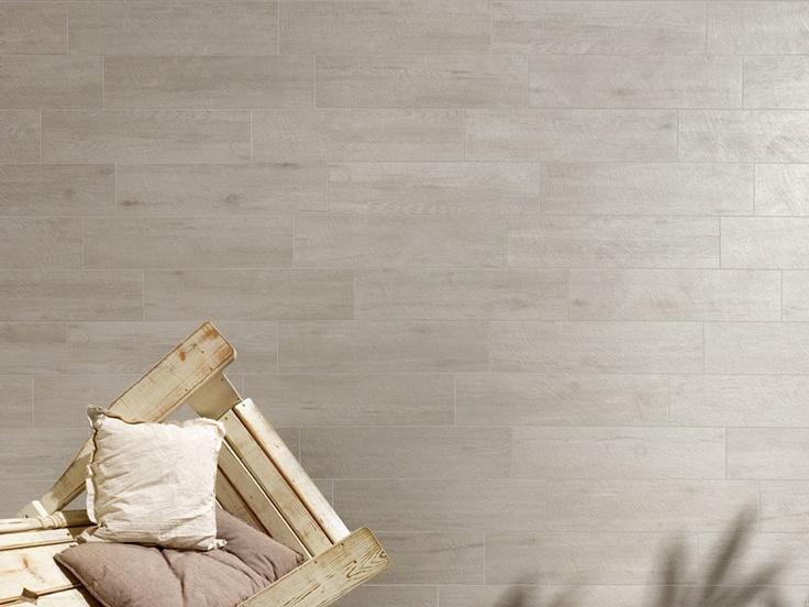 Pavimento in gres porcellanato effetto legno URBAN WOOD - Flaviker Pi.Sa.: Grigio struttura