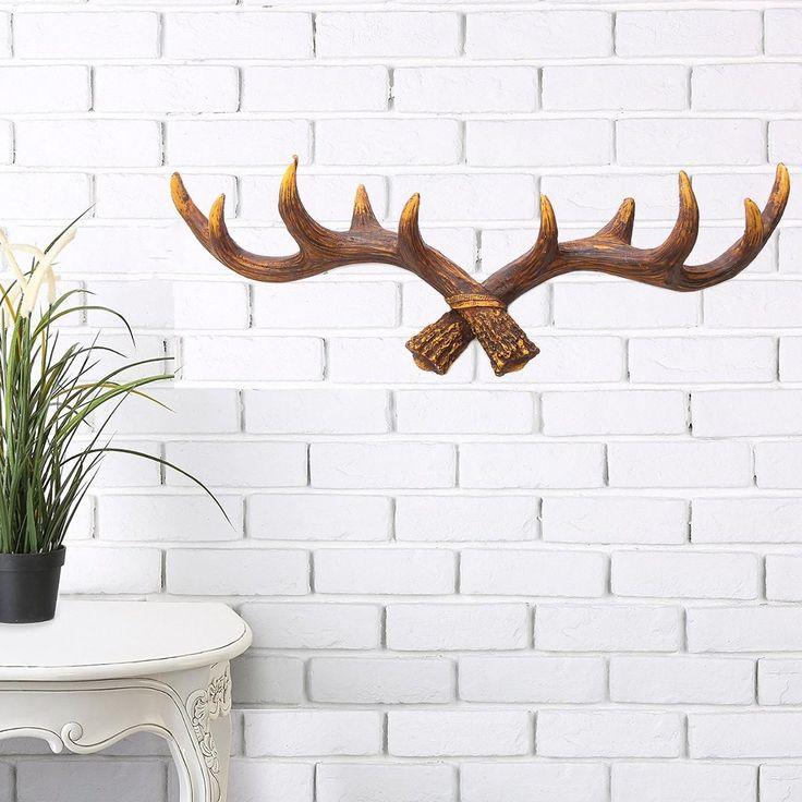 CABIDEIRO DE CHIFRE DE CERVO/VEADO DE BISCUIT OU DO ALIEXPRESS: https://pt.aliexpress.com/item/Home-Storage-Organization-Vintage-Resin-Deer-Antler-Rack-Crafts-Home-Decorative-Wall-Hat-Coat-Hanging-Hooks/32795589394.html?spm=a2g03.search0304.4.174.zhXSc1