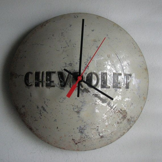 16 best repurposed auto parts images on pinterest for Clock mechanisms for craft projects
