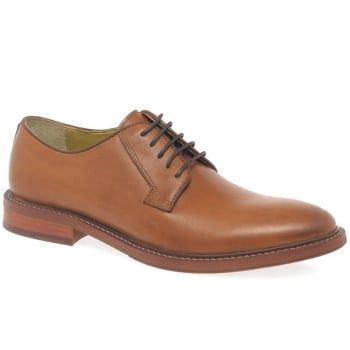 The Steptronic Banbury men's derby shoes are crafted in cognac brown leathers with a plain toe. Lined in super soft sheepskin, they're set on 100% natural rubber soles for everyday comfort. https://www.marshallshoes.co.uk/mens-c1/steptronic-mens-banbury-cognac-formal-lace-up-shoes-p4834
