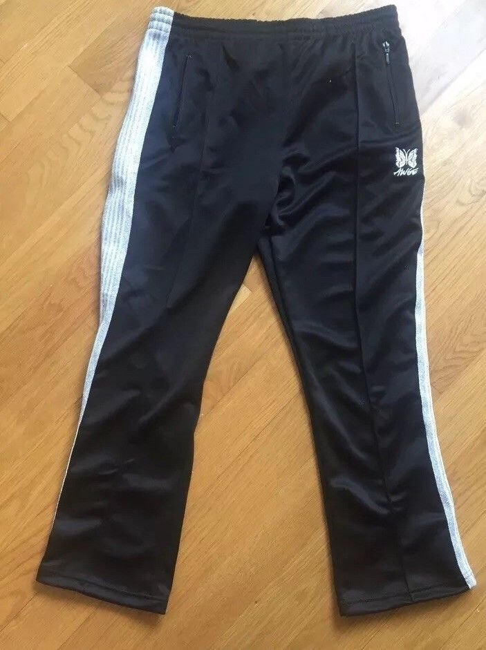 LADIES M/&S SIZES 12 OR 22 NAVY STRAIGHT ANKLE GRAZER STRETCH TROUSERS FREE POST