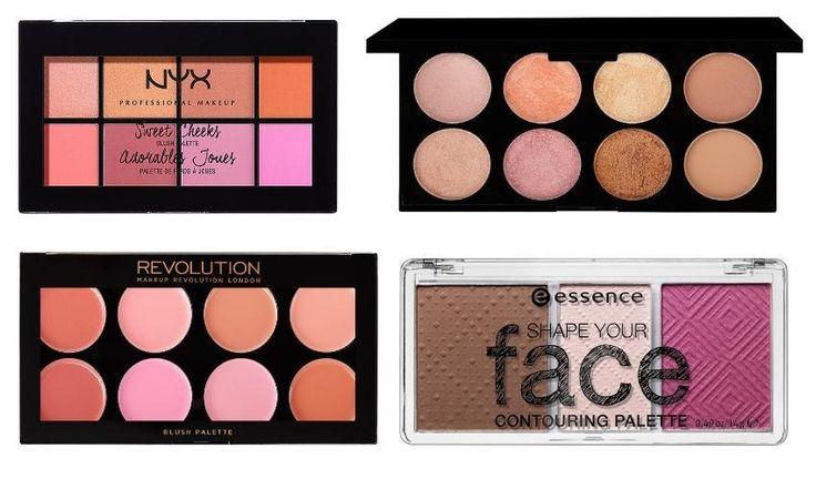 Top Blush Palettes #blush #palettes #makeup #beauty #makeupessentials