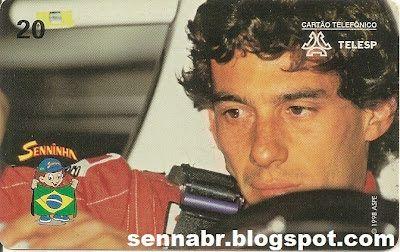 Automóveis, Ayrton Senna e F1: COLEÇÃO AYRTON SENNA (PARTE 2) - CARTÕES TELEFÔNICOS