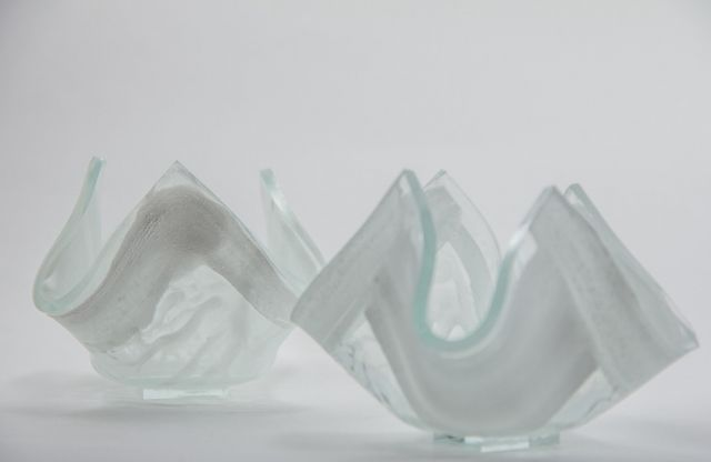 Unique and exclusive work of arts made by glass artist Branka Lugonja.