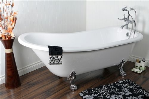 70 best clawfoot stand alone tubs images on pinterest for Claw foot bath tub for sale
