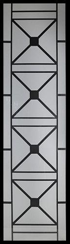 Wrought Iron Door Inserts - Brooklyn 22x80