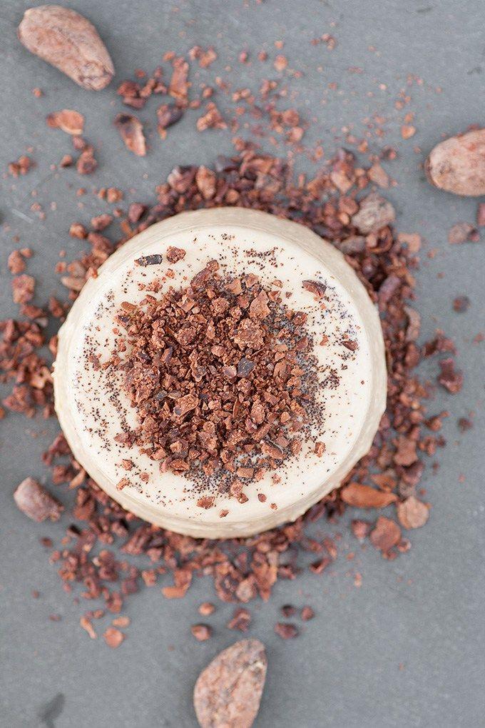 Italienisch Kochen   Espresso Panna cotta, heute auf theblackfig.com.  #italienischkochen