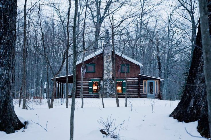 Hunting cabin in northern wisconsin cabins log homes Northern wisconsin home builders