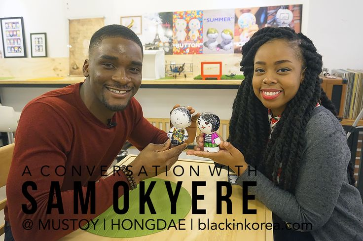 Talking Culture, Race, and More With Sam Okyere at Mustoy Hongdae! [Black In Korea TV] - Black In Korea