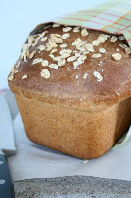 Honey Oat Bread yield: 1 loaf Ingredients: 1 cup warm water 1 envelope active dry yeast 1/4 cup honey 3 tablespoons butter, melted and cooled 1 teaspoon salt 1 1/2 cups whole wheat flour 2 1/4 cups bread flour 2 tablespoons milk oats Directions: In a large bowl, proof yeast in warm water and honey …