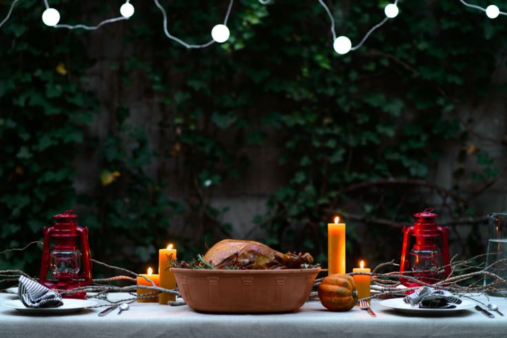 Thanksgiving Table- Kaufmann Mercantile