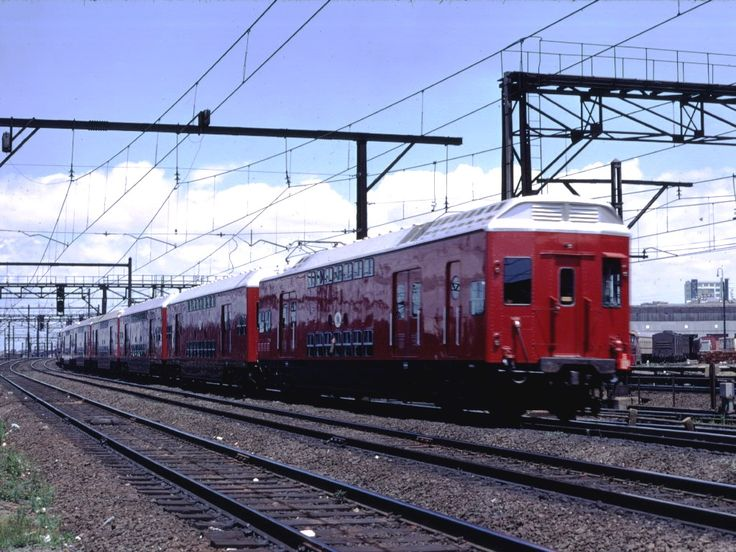 The 4 prototype motor cars numbered from C3801 onwards were produced to run with Tulloch trailers and form the first full DDEMU formation in the world.