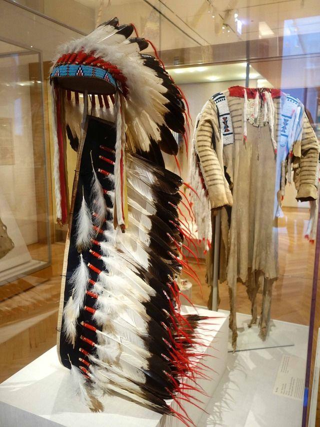 アメリカ先住民美術コーナー アメリカ三大美術館のひとつシカゴ美術館です。