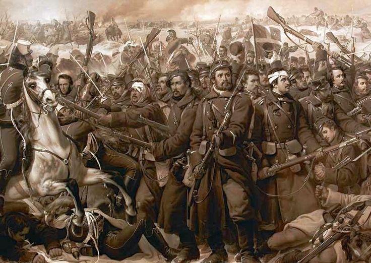 Niels Simonsen - Kampen ved Sankelmark 06.02.1864