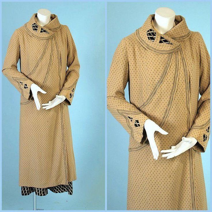 1920 PAUL POIRET DAY DRESS AND COAT ENSEMBLE RARE! | Clothing, Shoes & Accessories, Vintage, Women's Vintage Clothing | eBay!