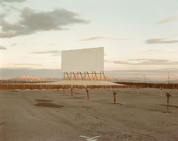 Richard Misrach, Drive-In Theatre Las-Vegas, 1987