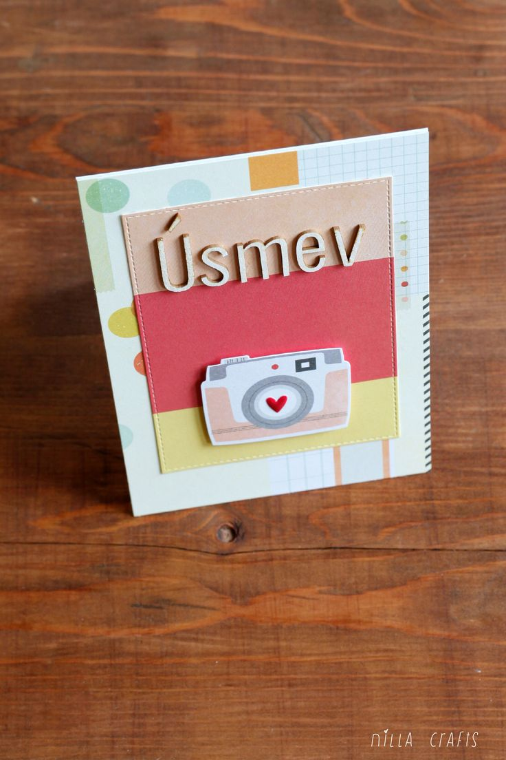 Smile | Usmev  ( July Simple Kit by Paperoamo) #simplestories #summer #summervibes #cardmaking