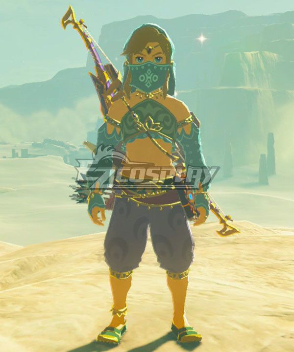 The Legend Of Zelda Breath Of The Wild Female Zelda Link