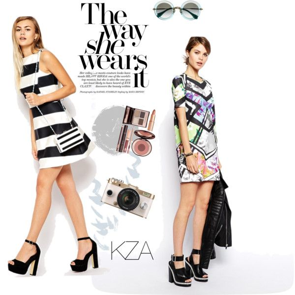 Shift Dress with black heels looks good! Which one is your favorite? Check out my polyvore for more ideas!