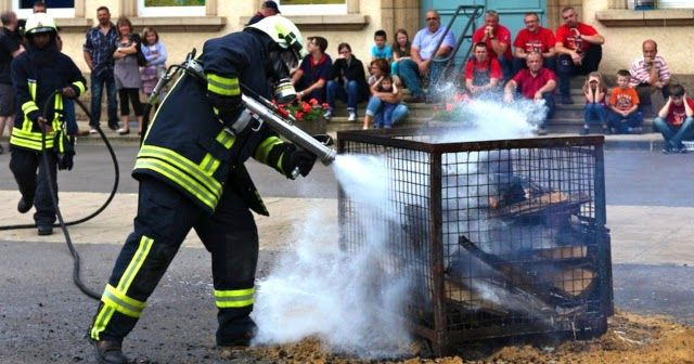 IFEX - Impulse Fire Extinguishing System | Firefighting equipment that uses small amounts of water fired in high velocity bursts to put out fires