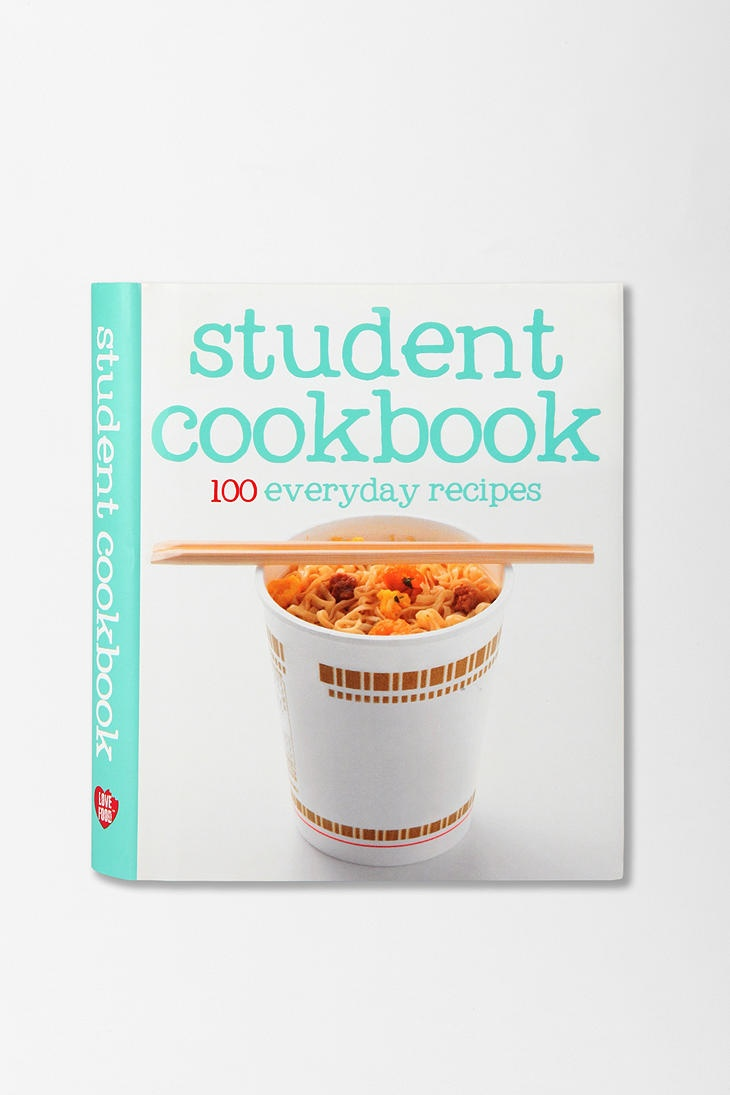 Student Cookbook By Parragon Books  #UrbanOutfitters