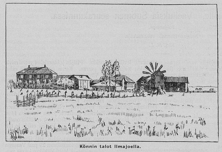 Könnin talot Ilmajoella, 01.02.1901 Kyläkirjaston Kuvalehti