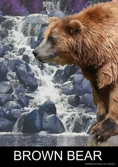 Brown Bear by MomboloArt